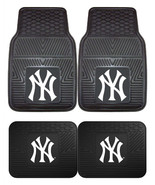 New York Yankees Car Mats 2Pc or 4Pc Front and Rear Heavy Duty Vinyl - $37.90+
