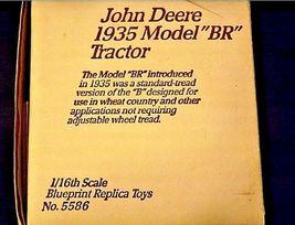 "John Deere 1935 model""BR"" TractorCollectors Edition AA18-JD0009 image 5"