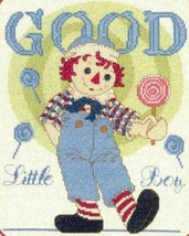 Designs By Gloria & Pat Good Little Boy Raggedy & Andy Cross Stitch Book... - $12.49