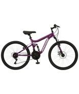 "Girl's 24"" Major Mountain Pro Bike w/ Dual Suspension, 21-Speed Bicycle,... - $264.55"