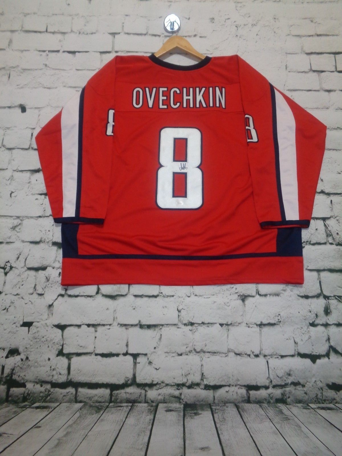 e7a1c464787 S l1600. S l1600. Previous. ALEXANDER OVECHKIN autographed signed Capitals  red Jersey JSA witness