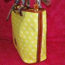 Dooney & Bourke Gretta Yellow Leisure Shopper Tote image 7