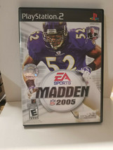 Playstation 2 Madden NFL 2005 - CIB Good Condition - $7.92