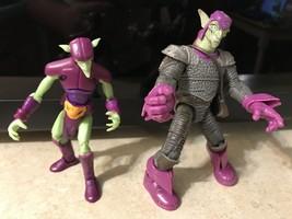 """2009 Marvel Hobgoblin 6"""" & Green Goblin 4"""" Action Figure VGC - $11.58"""