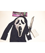 Scream Costume Accessory kit lot Mask Voice Changer and Knife Wes Craven... - $199.99