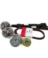 """Scotts L1742 and L17.542 42"""" Mower Deck Rebuild Kit Spindles Blades Belt... - $96.95"""