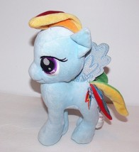 "My Little Pony Rainbow Dash Stuffed Plush 10"" Blue Horse ek - $7.99"