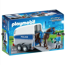 Playmobil City Action Police with Horse and Trailer  #6922 - $28.70
