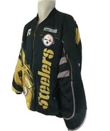 Pittsburg Steelers XXL Insulated Quilt Lined Zip Front Jacket - $48.51