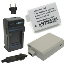 Wasabi Power Battery (2-Pack) and Charger for Canon LP-E5 and Canon EOS 450D, 50 - $39.99