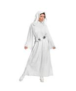 Star Wars Princess Leia Cosplay Costume White Halloween Fancy Dress - $47.95