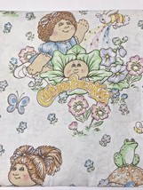 """Cabbage Patch Kids CPK Twin Flat Bed Sheet Vintage For 39"""" X 76"""" Mattres... - $9.89"""