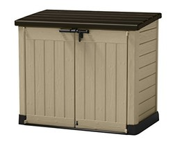 Keter Store-It-Out MAX 4.8 x 2.7 Outdoor Resin Horizontal Storage Shed - $294.03