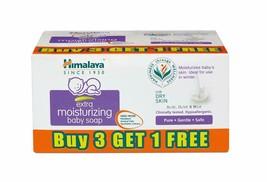 Himalaya Extra Moisturizing Baby Soap (75g, Buy 3 Get 1 Free) - $14.57
