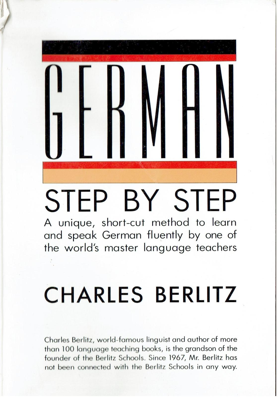 German Step-by-Step, By Charles Berlitz