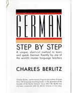 German Step-by-Step, By Charles Berlitz - $9.99