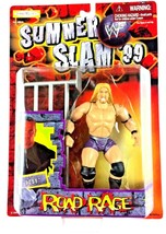 Test WWF WWE Jakks Action Figure Road Rage 1999 Sealed Summer Slam Guard... - $24.70