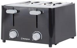 Westinghouse WT4201B 4 Slice Toaster, Black - €27,43 EUR