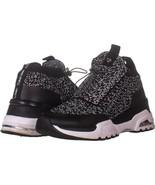 Calvin Klein Hue Crystal Slip On Sneakers 566, Black, 9 US / 39 EU - $34.55