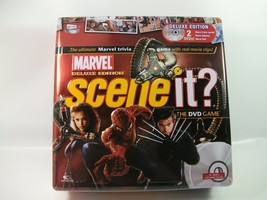 Marvel Scene It Deluxe Tin Board Game No Instructions - $18.81