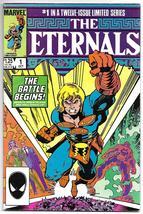 The Eternals #1 FINE Walter Simonson Sal Buscema Art Marvel Comics 1985 - $9.50