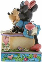"6"" Kissing Booth Mickey & Minnie Mouse Figurine - Jim Shore Disney Traditions image 4"