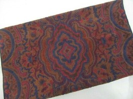 Ralph Lauren Paisley Blue Red Brown Bath Towel - $46.00