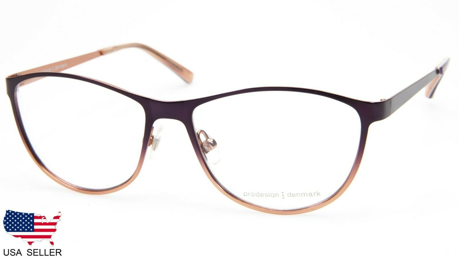 NEW PRODESIGN DENMARK 1260 c.3941 AUBERGINE EYEGLASSES FRAME 54-15-135 B40 Japan