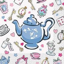 Disney Alice in Wonderland Paper Lunch Napkins - 16 Pcs - $12.81