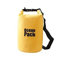 George Jimmy Waterproof Case Dry Bag Swimming Bag,Yellow 5L - $19.01