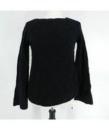 Style & Co Women's Sweater XS Chunky Knit Black  - $24.74