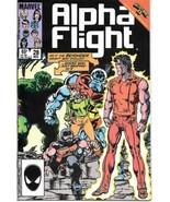 Alpha Flight Comic Book #28 Marvel Comics 1985 FINE+ - $2.25