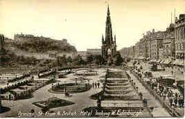 Princes Street Inverness Scotland vintage Post Card - $7.00