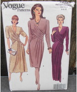 Vogue Dress In 3 Lengths Sewing Pattern 7939 Size 6-8-10 Formal or Casual* - $20.00
