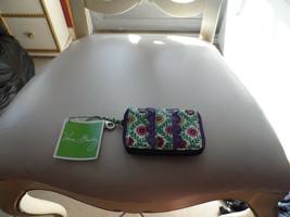 VERA BRADLEY FRILL KEY,CARD & COIN in VIVA LA VERA - $12.00