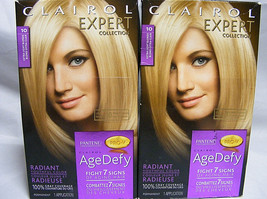 Clairol Expert Collection Age Defy Pro-V Extra Light Blond 10 (2 Packs) Priority - $31.73