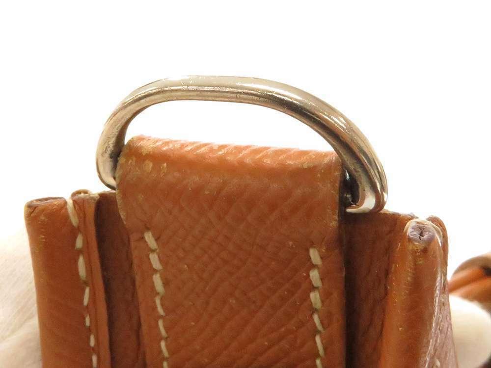 HERMES Evelyne 3 PM Veau Epsom Gold #N Shoulder Bag France Authentic
