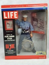 "G.I. JOE 12"" Life U.S. Navy Pearl Harbor Attack 2000 Historical Edition ... - $44.55"