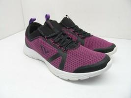 Vionic Women's Brisk Alma Lace-Up Active Sneakers Black/Pink Size 9.5M - $75.99