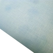Blue Hand-Dyed Effect 40ct Linen 17x19 cross stitch fabric Fabric Flair - $20.40