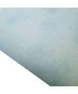 Blue Hand-Dyed Effect 40ct Linen 17x19 cross st... - $20.40