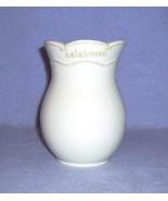 Hallmark Signature Laugh Wish Celebrate Vase Beige - $5.99