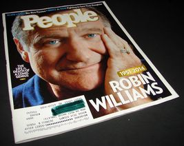 PEOPLE Magazine Aug 25 2014 Robin Williams Special - $10.25