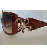 Designer Inspired Brown With Fleu-De-Lis Design... - $10.95