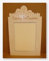 Ghost Frame white wooden frame opening 11x14 Doodlin Around Design - $54.00