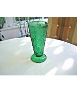 """Anchor Hocking Forest Green Grapes Vintage 9"""" Vase - $11.88"""