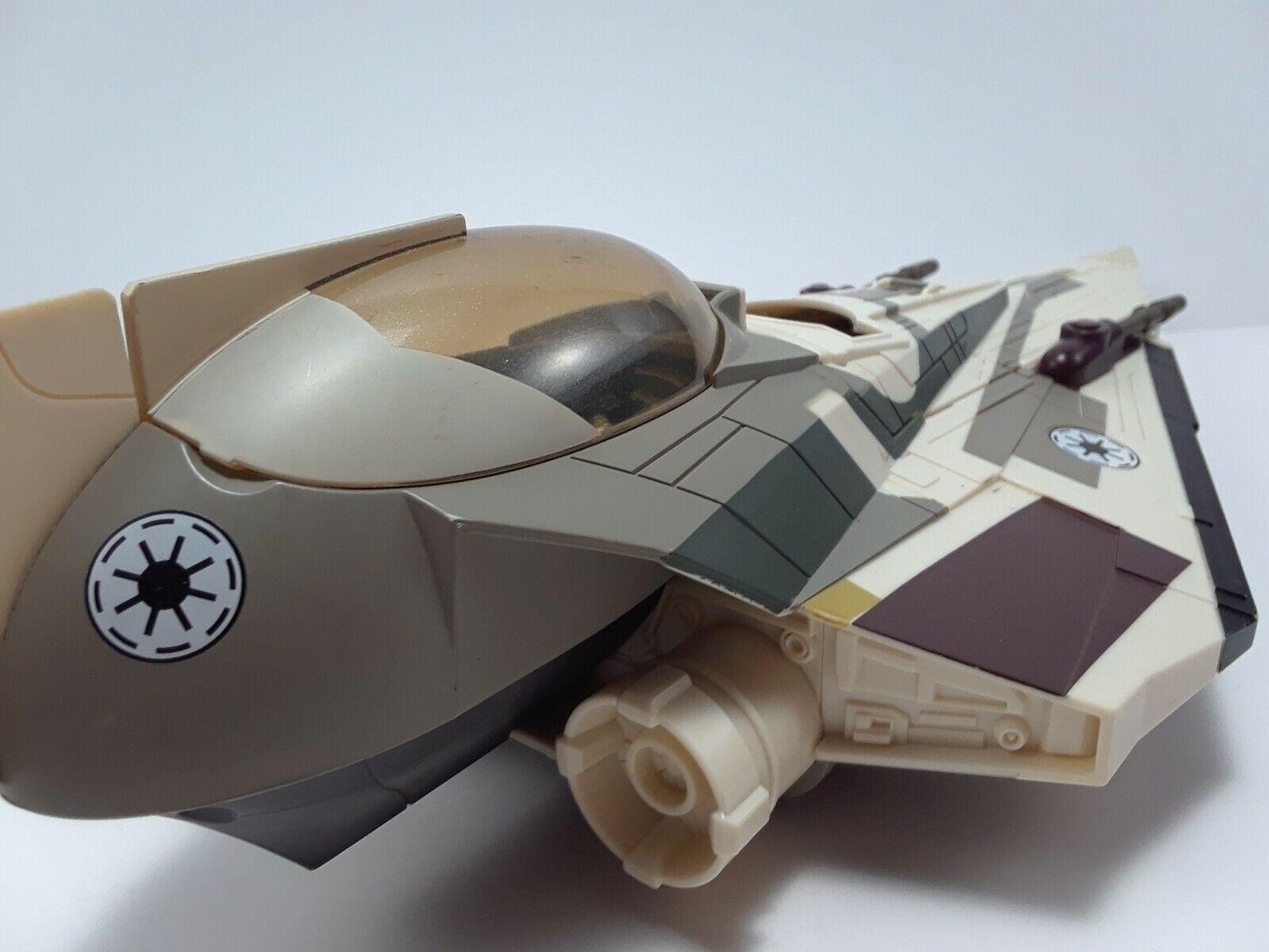 Star Wars The Clone Wars Mace Windu's Jedi Starfighter Hasbro Exclusive image 5