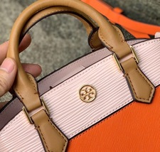 Tory Burch Robinson Color Block Top Handle Mini Bag image 4
