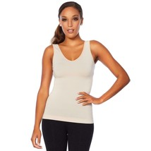 Nearly Nude Smoothing Modal Cotton V-Neck Tank in Nude, M/L (617828) - $28.70