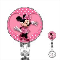 Nurses Watch minnie mouse pink dots cute docs doctor  nurse - $18.00
